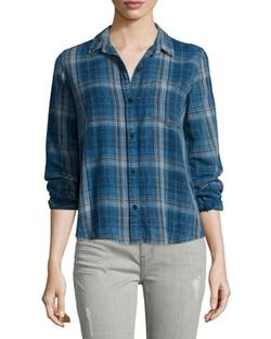Current/Elliott  - The Workwear Slim Boy Shirt