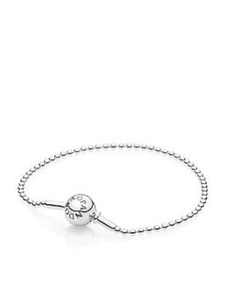Pandora - Sterling Silver Beaded Bracelet