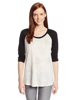 Hurley  - Juniors Solid Cloud Raglan