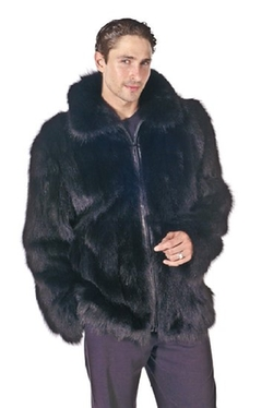 Coats and Capes  - Mens Fox Jacket