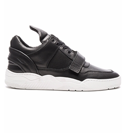 Filling Pieces - Single Strap Low Top Transformed Sneakers