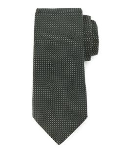 Valentino - Neat Dash Textured Tie