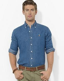 Polo Ralph Lauren  - Denim Classic Button Down Shirt