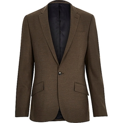 River Island - Tailored Slim Suit Jacket