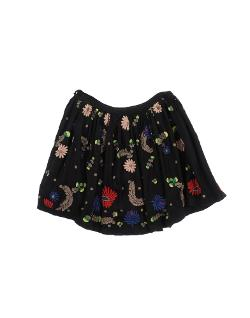 Antik Batik  - Floral Skirt