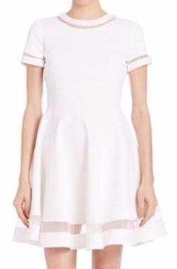 Alice and Olivia  - Frances Mini Flared Dress