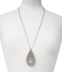 Jessica Simpson  - Teardrop Statement Pendant Necklace