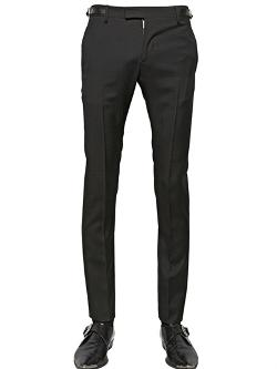 Saint Laurent  - Light Wool Gabardine Trousers