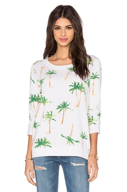Chaser - Palm Tree Breeze Long Sleeve Tee