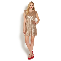 Shoedazzle - Easy Sequins Dress