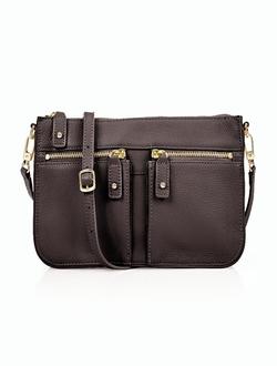 Talbots - Double-Pocket Crossbody Bag