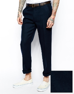 Asos - Slim Fit Wool Pants