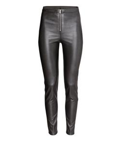 H&M - Imitation Leather Pants