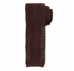 Peter Millar  - Silk Knit Contrast Tie