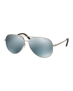 Michael Kors  - Mirrored Aviator Sunglasses