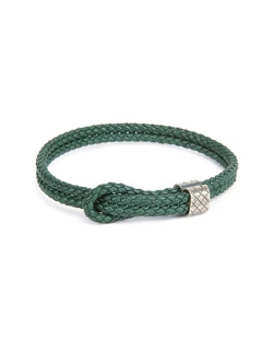 Bottega Veneta - Woven Leather Knot Bracelet