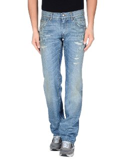 Dolce & Gabbana - Straight Leg Denim Pants