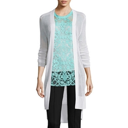 Nicole By Nicole Miller - Long Sleeve Loose Stitch Sweater