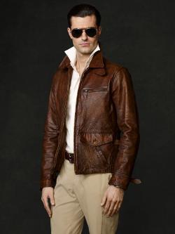 RALPH LAUREN - Kalahari Newsboy Jacket