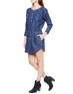 True Religion - Popover Womens Shirt Dress