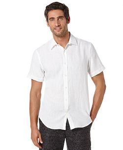 Perry Ellis  - Big and Tall Linen Shirt