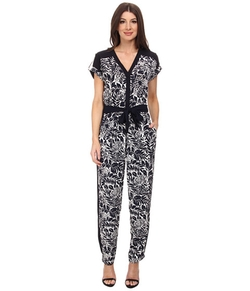 Adrianna Papell - Drop Shoulder Jumpsuit