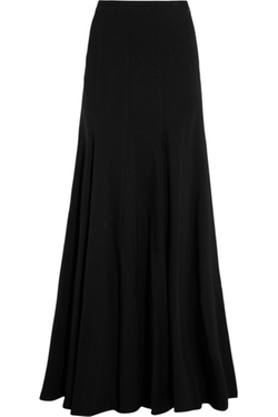 Michael Kors Collection - Stretch Wool-Blend Maxi Skirt