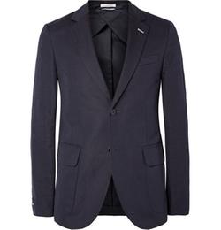 Gant Rugger - Cotton And Linen-Blend Canvas Suit Jacket