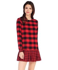 RD Style - Buffalo Plaid Dress