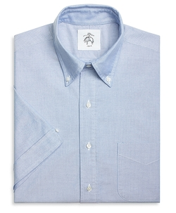 Brooks Brothers - Short-Sleeve Button-Down Shirt