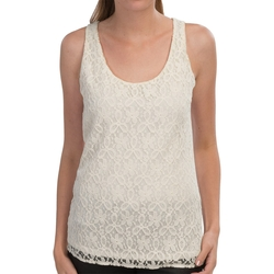 Sierra Trading Post - Lace-Front Tank Top
