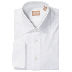 Gitman Brothers - Herringbone Twill Dress Shirt