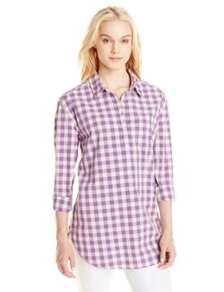 Lucky Brand  - Roll-Sleeve Woven Shirt