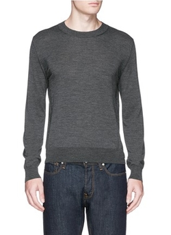 Canali - Wide Crew Neck Sweater