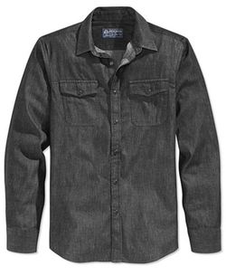American Rag - Denim Long-Sleeve Shirt