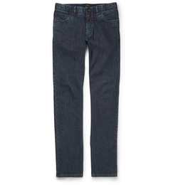 Brioni - Slim-Fit Washed-Denim Jeans