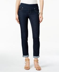 Style&Co. - Pull-On Cuffed Boyfriend Jeans