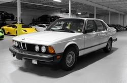 BMW  - 1983 733i 733i 4dr Sedan