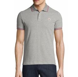 Moncler - Tipped Piqué Polo Shirt