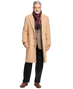 Brooks Brothers - Single-Breasted Polo Coat