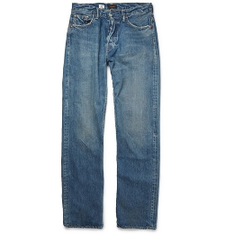 Chimala   - Selvedge Washed-Denim Jeans