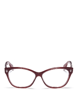 Alexander McQueen - Skull Stud Optical Glasses