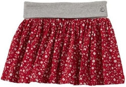 Petit Bateau  - Floral Print Skirt