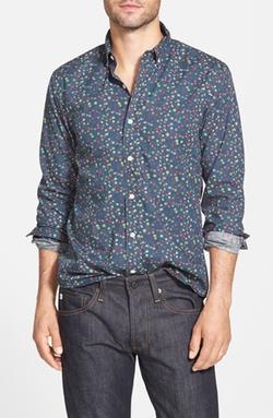 Bonobos  - Torrance Floral Slim Fit Sport Shirt