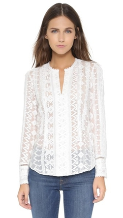Rebecca Taylor - Embroidered Top