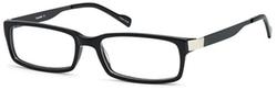 Dalix - Rectangular Black Glasses