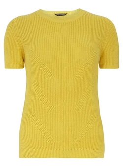 Dorothy Perkins - Knitted Side Split Tee Shirt