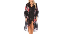 Band of Gypsies - Vintage Floral Robe