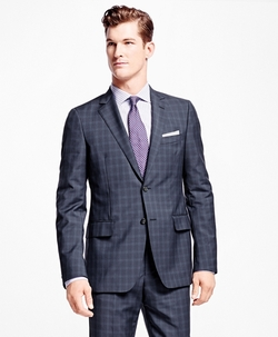 Brooks Brothers - Fitzgerald Fit Windowpane Suit