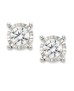 TruMiracle  - Diamond Stud Earrings